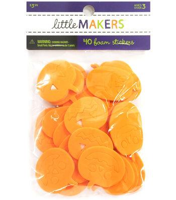 Little Maker's Foam Stickers-Jack Olantern