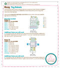 Kwik Sew Pattern K0225 Plush Toy Robots