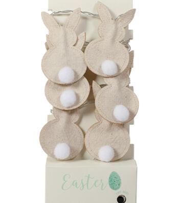 Easter Decor 10 ct Bunny LED Strand Lights