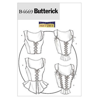 Butterick Misses Historical Costumes-B4669