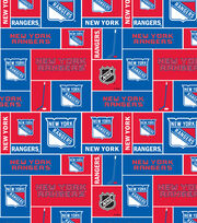 New York Rangers Fleece Fabric -Block, , hi-res