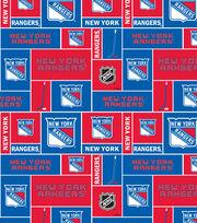 New York Rangers Fleece Fabric -Block, , hi-res
