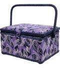 Singer Large Sewing Basket-Clarissa Print