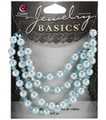 Jewelry Basics Pearl/Crystal Bead Mix 6mm 101/Pk