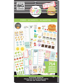 The Happy Planner Sticker Value Pack-Yum