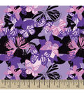 Snuggle Flannel Fabric -Camo Butterfly