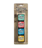 Tim Holtz Distress Mini Ink Pads 4/Pkg-Kit 13, , hi-res