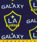 LA Galaxy Fleece Fabric 58\u0022-Logo