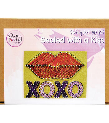 Pretty Twisted String Art DIY Kit-Sealed With A Kiss