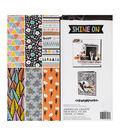 American Crafts Single-Sided Paper Pad 12\u0022X12\u0022 48/Pkg-Amy Tan Shine On