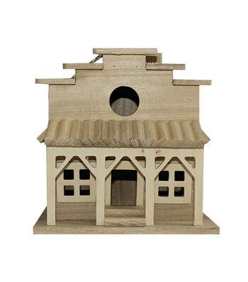 Unfinished Wood Birdhouse-Western Store