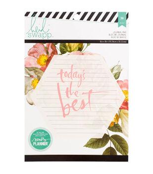 "Heidi Swapp Memory Planner Journaling Paper Pad 6""X8"" 36/Pkg"