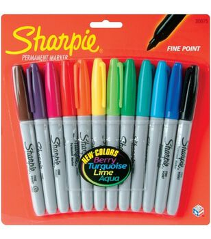 Sanford Sharpie Marker Color Set 12Pk-Fine Point