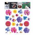 Decorprint Textil Transfer Fabric Iron-on Sheet-Set of Flowers