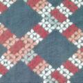 Anti-Pill Plush Fleece Fabric-Blush Gray Lattice