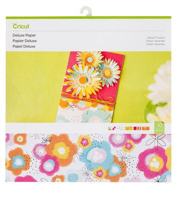 Cricut Deluxe Paper-Vibrant Flowers