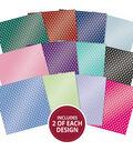 Hunkydory Crafts 8\u0027\u0027x8\u0027\u0027 Marvellous Mirri Paper Pad-Sensational Spots