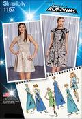 Simplicity Pattern 1157D5 4-6-8-10-1-Dresses