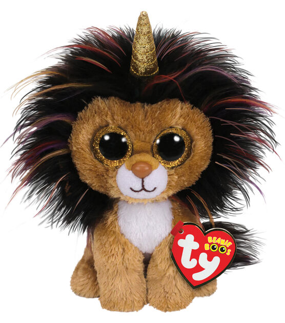 Ty Inc. Beanie Boos Regular Ramsey Lion with Horn, , hi-res, image 1