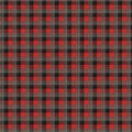 Super Snuggle Flannel Fabric-Skylar Red Black Plaid