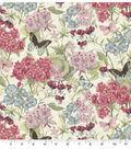 Premium Cotton Fabric-Buzz Floral Bouquet