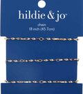 hildie & jo 18\u0022 Copper & Iron Twist Chain-Gold
