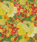 Home Decor 8\u0022x8\u0022 Fabric Swatch-Waverly Blossom Boutique Poppy