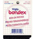 Wrights Bondex Iron-On Giant Patches-10\u0022x12\u0022 Denim