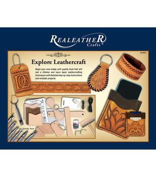Realeather Crafts Explore Leathercraft Kit