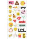 Emoji Love Chipboard Stickers 6\u0022X12\u0022