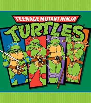 "No Sew Fleece Throw 48""-Teenage Mutant Ninja Turtles"