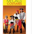 McCall\u0027s Pattern M4952 Adult & Children\u0027s Pirate Costumes