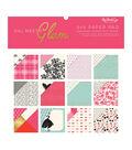 My Mind\u0027s Eye Double-Sided Paper Pad 6\u0022X6\u0022-Gal Meets Glam, 12 Designs