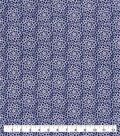 Snuggle Flannel Fabric-Navy Burst