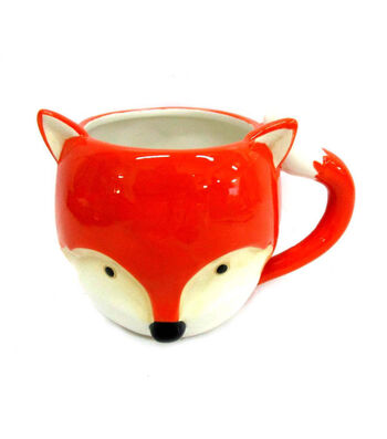 Simply Autumn Fox Critter Mug
