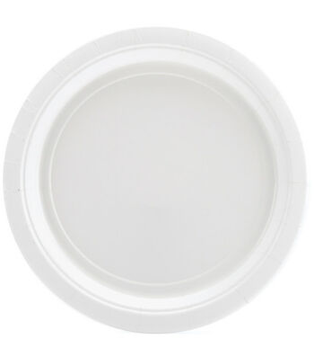Amscan Big Party Pack 9'' Dinner Paper Plates-60PK