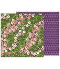 Pebbles Jen Hadfield Patio Party 25 pk Cardstock-Wandering Wildflowers