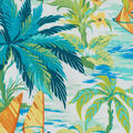 Tommy Bahama Outdoor Fabric 9\u0022x9\u0022 Swatch-Wind Surfers Mangrove