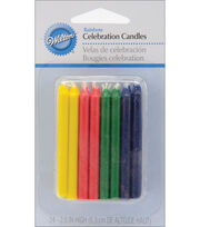 Cele Rnd Candle Rainbow, , hi-res