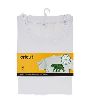Cricut Infusible Ink Men's Crew Neck T-Shirt-White