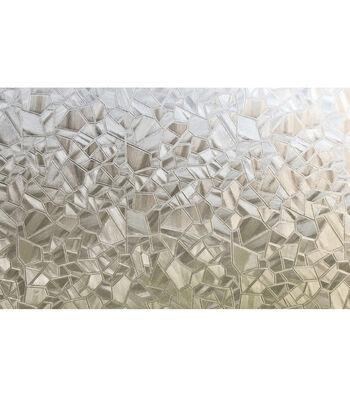 Peel and Stick Window Film-Mosaic