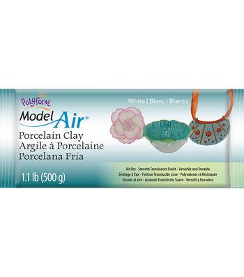 Polyform Model Air 17.6 oz. Porcelain Clay-White