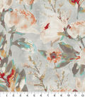 Kelly Ripa Home Upholstery Décor Fabric 9\u0022x9\u0022 Swatch-Flower Mania Shell
