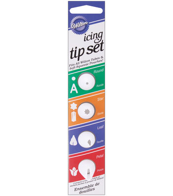 Wilton Icing Tip Set-Nested