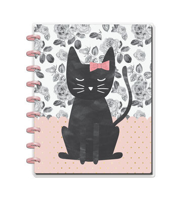 The Happy Planner Happy Notes 60-sheet Notebook-Cat