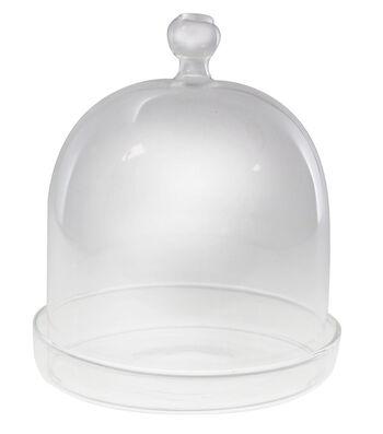 Maker's Holiday Craft Mini Glass Dome Cloche