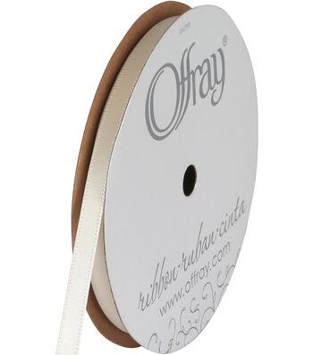 """Offray Single Face Satin Ribbon 1/4""""-20 Yds"""