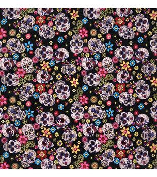 Bandana 22''x22''-Sugar Skulls