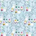 Super Snuggle Flannel Fabric-Winter Gnomes