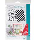 Gina K. Designs 5.5\u0027\u0027x8.5\u0027\u0027 Background Foil-Mates-Ornamental Holiday